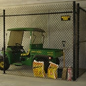 Commercial Interior Chain Link Caging