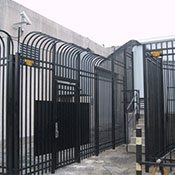 Commercial Ornamental Steel Fence