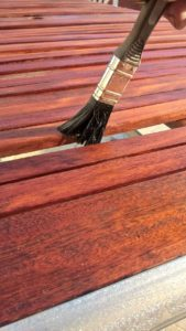 Learn about the difference between wood stain and varnish.