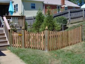 how to care for your wood fence gate