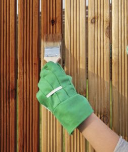 how to care for your home fence this summer