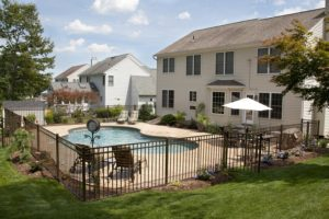 hercules fence DC pool fence material