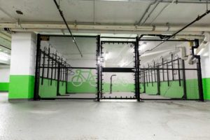 bicycle cage installations