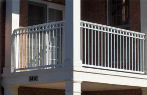 aluminum railings hercules fences dc
